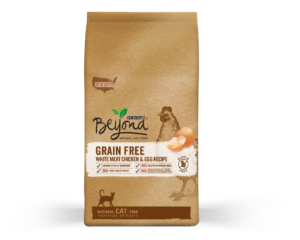 Grain free dry cat food may still be loaded with carbs.