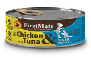 FirstMate cat food is human grade