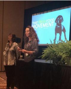 Dr. Karen Becker, Dr. Donna Raditic at SuperZoo 2019