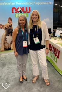 Dr. Barbara Royal, DVM, at SuperZoo 2019