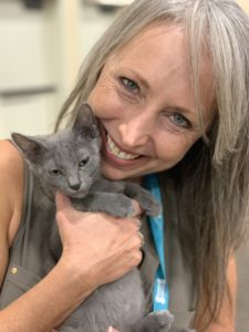 Pam Roussell of Purrrfectly Holistic monthly radio show